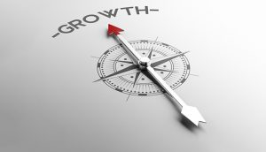 PR grows your business compass